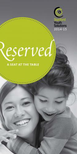 Image of Reserved- A Seat at the Table