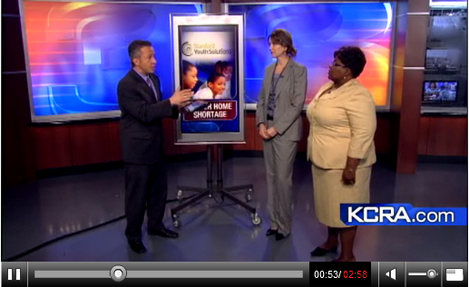 Image of Stanford Youth Solutions on KCRA