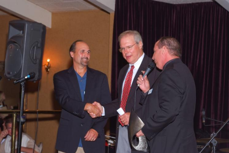 Ed Mosbaugh and Keith Diederich present John Frish