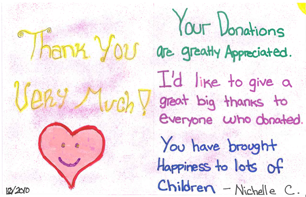 See children's thank you cards