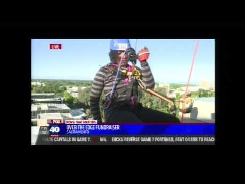 Over the Edge event on local news!